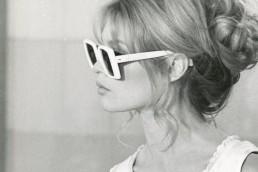 Occhiali dive, Brigitte Bardot