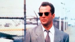 Bruce Willis in Moonlighting occhiali Ray-Ban