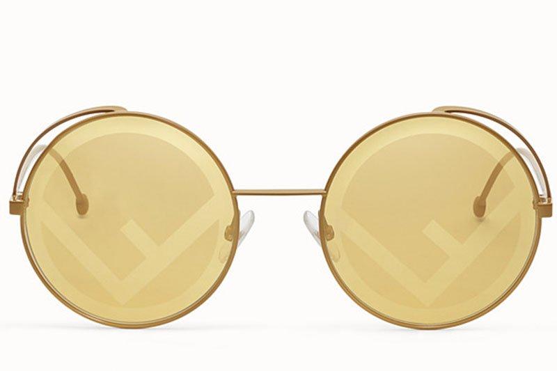 occhiali da sole fendirama giallo