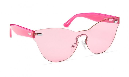 Monochrome Rimless Sunglasses