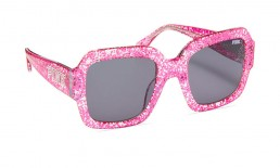 Oversized Glitter Sunglasses Victoria's Secret