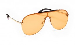 Rimless Brow-bar Aviator