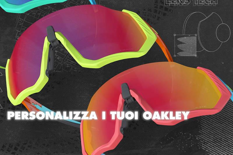 oakley personalizzabili