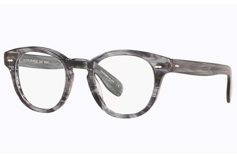 oliver peoples cary grant navy smoke_laterale