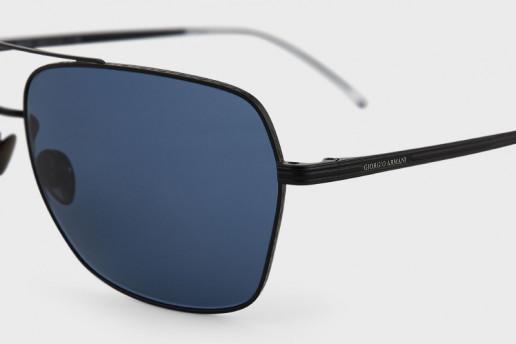 Giorgio Armani– occhiali da sole uomo forma squadrata
