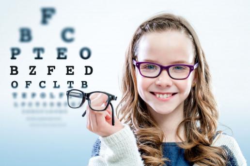 occhiali per bambini astigmatici